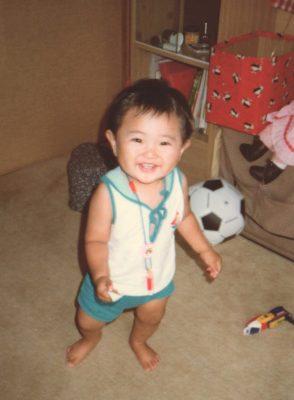 幼い頃の私